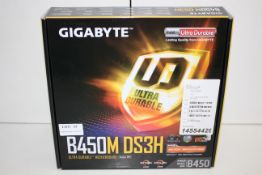 BOXED GIGABYTE B450M DS3H ULTRA DURABLE MOTHERBOARD RRP £63.98Condition ReportAppraisal Available on