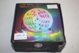 BOXED LED STRIP LIGHT - LIGHTING UP YOUR LIFE Condition ReportAppraisal Available on Request- All