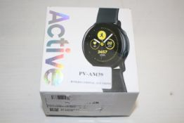 BOXED SAMSUNG GALAXY WATCH ACTIVE RRP £180.00Condition ReportAppraisal Available on Request- All
