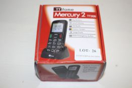 BOXED TT FONE MERCURY 2 TT200 RRP £32.99Condition ReportAppraisal Available on Request- All Items