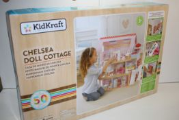 BOXED KIDIKRAFT CHELSEA DOLL COTTAGE RRP £89.00Condition ReportAppraisal Available on Request- All