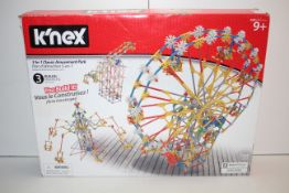 BOXED K'NEX 3-IN-1 CLASSIC AMUSEMENT PARK RRP £49.99Condition ReportAppraisal Available on