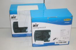 2X BOXED RING ANALOGUE AIR COMPRESSORS RRP £29.99 EACHCondition ReportAppraisal Available on