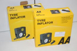 2X BOXEDS AA TYRE INFLATORS Condition ReportAppraisal Available on Request- All Items are