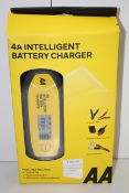 BOXED AA 4A INTELLIGENT BATTERY CHARGER AA0725 RRP £39.95Condition ReportAppraisal Available on