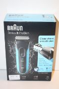 BOXED BRAUN SERIES 3 PROSKIN WET & DRY SHAVER MODEL: 3010S RRP £49.99Condition ReportAppraisal