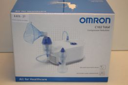 BOXED OMRON C102 TOTAL COMPRESSOR NEBULIZER RRP £69.99Condition ReportAppraisal Available on