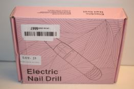 BOXED ELECTRIC NAIL DRILL RRP £25.89Condition ReportAppraisal Available on Request- All Items are