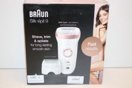 BOXED BRAUN SILK EPIL 9 SES 9-720 SHAVE, TRIM & EPILATE RRP £160.00Condition ReportAppraisal