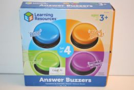 BOXED LEARNING RESOURSES ANSWER BUZZERSCondition ReportAppraisal Available on Request- All Items are