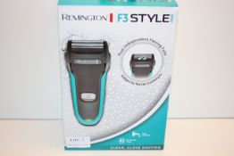 BOXED REMINGTON F3 STYLE SHAVER RRP £24.99Condition ReportAppraisal Available on Request- All
