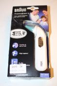 BOXED BRAUN THERMOSCAN 3 HIGH SPEED COMPACT EAR THERMOMETER MODEL: IRT3030 RRP £24.55Condition