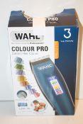 BOXED WAHL COLOUR PRO CORDED HAIR CLIPPER RRP £25.99Condition ReportAppraisal Available on