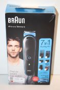 BOXED BRAUN ALL-IN-ONE TRIMMER 3 MODEL: MGK3245 RRP £29.95Condition ReportAppraisal Available on