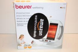 BOXED BEURER WELLBEING INFRARED LAMP MODEL: IL50 RRP £80.00Condition ReportAppraisal Available on