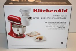 BOXED KITCHEN AID SIFTER + SCALE THE ALL IN ONE BAKING TOOL RRP £99.95Condition ReportAppraisal