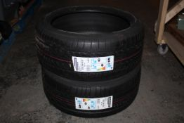 2X BRIDGESTONE POTENZA 225/40/R18 TYRES WITH NEW STRIP ON TYRE / STEEL BELTED RADIAL COMBINED RRP £