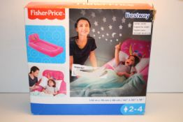BOXED BESTWAY FISHER PRICE DREAM GLIMMERS COMFORT AIRBED RRP £19.99Condition ReportAppraisal
