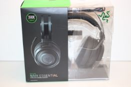 BOXED RAZER NARI ESSENTIAL WIRELESS GAMING HEADSET RRP £69.99Condition ReportAppraisal Available