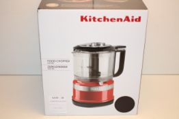 BOXED KITCHEN AID FOOD CHOPPER 830ML BLACK RRP £99.00Condition ReportAppraisal Available on Request-