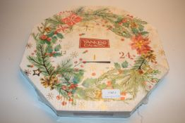 BOXED YANKEE CANDLE ADVENT CALENDAR Condition ReportAppraisal Available on Request- All Items are
