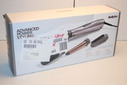 BOXED BABYLISS AIR STYLE 1000 DRYING AND STYLING £60.00Condition ReportAppraisal Available on