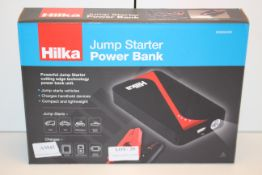 BOXED HILKA JUMP STARTER POWER BANK 83850400 RRP £69.99Condition ReportAppraisal Available on