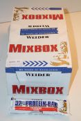 BOXED WEIDER MIXBOX STRAWBERRY FLAVOR 32% PROTEIN BARS (BBE 02/2021)Condition ReportAppraisal
