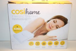 BOXED COSI HOME ELECTRIC BLANKET PREMIUM ELECTRIC BLANKET RRP £59.99Condition ReportAppraisal