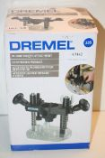 BOXED DREMMEL PLUNGE ROUTER ATTACHMENT 335 RRP £26.94Condition ReportAppraisal Available on Request-