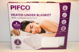BOXED PIFCO HEATED UNDER BLANKET WITH OVERHEAT PROTECTION Condition ReportAppraisal Available on