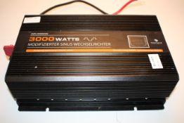 UNBOXED NOVOPAL 3000WATTS POWER INVERTER WITH DUAL USB PORTS/3 PLUGS Condition ReportAppraisal