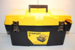UNBOXED STANLEY 50CM TOOL AND ACCESSORIES BOX RRP £34.99Condition ReportAppraisal Available on