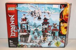 BOXED LEGO NINJAGO 70678 CASTLE OF THE FORSAKEN EMPEROR RRP £109.95Condition ReportAppraisal