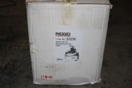 BOXED RIDGID MODEL: DP-13 DESCALING PUMP RRP £570.30Condition ReportAppraisal Available on