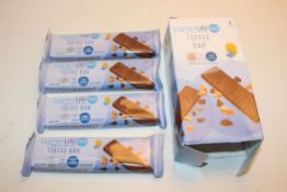 5X BOXED SETS OF 4 MEALS LIGHTERLIFE TOFFEE BARS (BBE 01-2021)Condition ReportAppraisal Available on