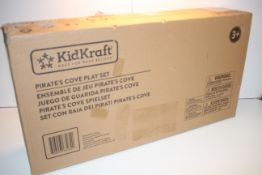 BOXED KIDDIKRAFT PIRATE'S COVE PLAY SET 3+ RRP £145.90Condition ReportAppraisal Available on