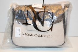 BAGGED BRAND NEW NAOMI CAMPBELL COLLECTION SUEDE/LEATHER HANDBAG RRP £49.99Condition ReportAppraisal