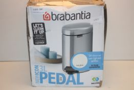 BOXED BRABANTIANEWICON 3L PEDAL BIN RRP £24.99Condition ReportAppraisal Available on Request- All