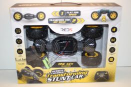 BOXED RED5 REMOTE CONTROL TRANSFORMING STUNT CAR RRP £39.99Condition ReportAppraisal Available on
