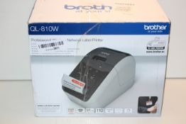 BOXED BROTHER PROFESSIONAL WIRELESS NETWORK LABEL PRINTER RRP £69.99Condition ReportAppraisal