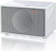 BOXED BRAND NEW GENEVA CLASSIC S A151 SPEAKER, FM & DAB, BLUETOOTH, WHITE, RRP-£300.00Condition
