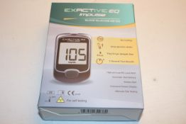 BOXED EXACTIVE EQ IMPULSE BLOOD GLUCOSE METER RRP £20.49Condition ReportAppraisal Available on