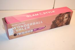 BOXED GLAM & STYLE WONDERBALL CURLER Condition ReportAppraisal Available on Request- All Items are
