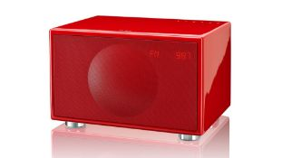 BOXED BRAND NEW GENEVA CLASSIC M A180 SPEAKER, FM & DAB, BLUETOOTH, RED, RRP-£400.00Condition