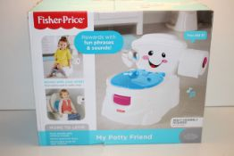 BOXED FISHER PRICE MY POTTY FRIEND RRP £36.99Condition ReportAppraisal Available on Request- All