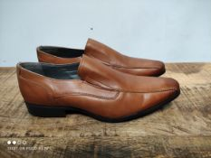 UNBOXED MENS SIZE 9 TAN SMART SHOES Condition ReportAppraisal Available on Request- All Items are