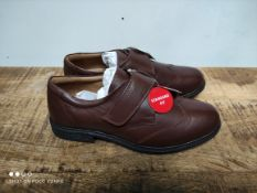 UNBOXED MENS SIZE 7 BROWN TRUESTYLE SHOESCondition ReportAppraisal Available on Request- All Items