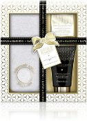 BOXED NEW BAYLIS AND HARDING ENGLAND GIFT SET, INCLUIDES- 1X 50ML FOOT LOTION, 1X 25G FOOT SOAK