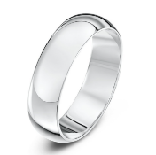 BOXED 928 BRITANIA STERLING SILVER GENTS WEDDING BAND, MADE IN THE JEWELLERY QUARTER, SIZE- X,